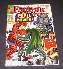 FANTASTIC FOUR #60 Fn+ 12¢ cover Marvel Comic | Dr. Doom