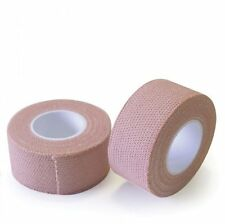 2 x FABRIC ELASTIC STRAPPING TAPE - FOR SECURING DRESSINGS - 7.5CM x 4.5M