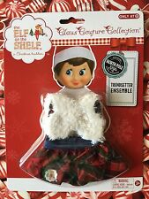 TRENDSETTER ENSEMBLE SKIRT & FLUFFY VEST Elf on the Shelf Clothes Christmas
