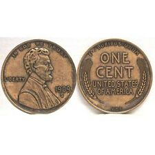 1909 WHEAT PENNY ABRAHAM LINCOLN JUMBO COIN PAPERWEIGHT NEW