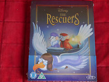 NEW SEALED Blu-ray Region A B C Disney The Rescuers Limited Edition Steelbook