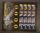 2014USA #4928-4935 Forever - Batman - Mint Sheet of 20 comic postage stamps