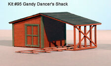 LaserKit S Scale Gandy Dancer's Shack Kit #95  Bob The Train Guy