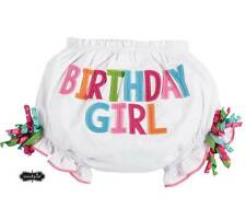 Mud Pie Birthday Girl Bloomers  0-12 Months