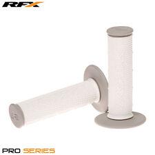 Rfx de doble densidad Grips soft-mid compuesto en Gris Blanco Motocross Enduro