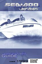 Sea-Doo Owners Manual Book 1999 SPORTSTER 1800 & CHALLENGER 1800