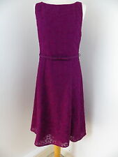 Kaliko dress purple señorita Size 12 38 BNWT RRP £130 bridesmaid cruise races