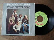 "PROCOL HARUM / PANDORA'S BOX - PIPER'S TUNE (1975) 7"" SP"
