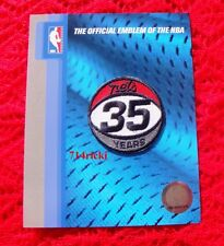 Official NBA 1977 - 2012 New Jersey Nets 35th Anniversary small patch