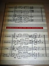 1961 COMPOSING FOR THE JAZZ ORCHESTRA MUSIC NOTES BOOK BY WILLIAM RUSSO