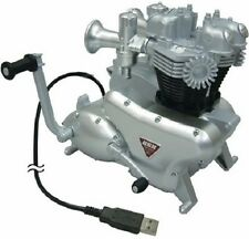 Triumph Bonneville Engine 3-Port Computer USB Hub