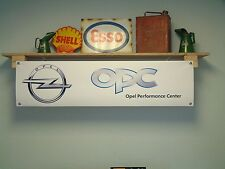 Opel OPC workshop banner - Opel Performance Center ,GTC, Corsa, Insignia