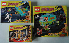 LEGO ® SCOOBY DOO MYSTERY SET 75900 Museo & 75901 Plane & 75902 MACHINE NUOVO