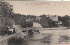 RABSTENS bords du tarn et château de saint-géry cliché jansou timbrée