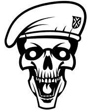 ARMY SKULL HEAD CAR DECAL STICKER