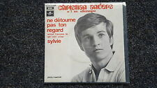 Christian Anders - Ne detourne pas ton regard 7'' Single SUNG IN FRENCH/ France