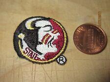 """Florida State Seminoles FSU 1 1/4"""" Logo Patch College"""