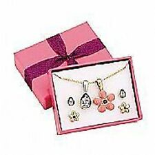 Avon Shontelle Flower Pendants/Earrings Gift Set Boxed New