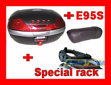 BMW R 1200 GS ADVENTURE 2006-12 VALIGIA BAULETTO V46N NERO + SRA5102 ALL + E95S