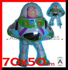Large Supershape Buzz Lightyear /Toy Story Balloon Party Supplies 70cm x 50cm