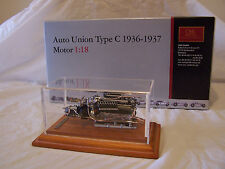 CMC Auto Union Type C 1936-1937 Motor 1:18 Scale Die Cast Model M-034B