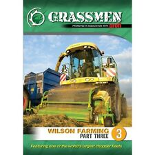 Grassmen Wilson Farming Part 3 DVDs New/Tractors/Ireland/UK/Country/Farming sale
