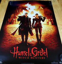 HANSEL & GRETEL WITCH HUNTER PROMO NEW PRINT POSTER 24 X 36 cube