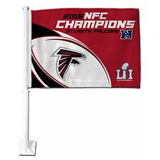 NFL Atlanta Falcons 2016 NFC Champions Car Flag