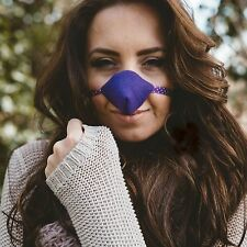 Nose Warmer, Purple Fleece Nose Warmer, Design Registered