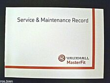 Vauxhall Service History Record Book Vectra B & C Models  Brand New Genuine*