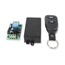 1CH DV 12V 433MHz Wireless RF Remote Control Relay Switch Transceiver+Receiver