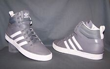 Adidas Top Court Retro Basketball Sneakers Medium Lead White Mens Size 11.5 NEW!