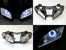 Angel Eye HID Projector Demon Eye Headlight Assembly for Yamaha YZF R6 2008-2015