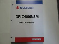 2006 2007 2008 Suzuki DR-Z400S/SM DRZ400S/SM Service Repair Manual  BRAND NEW
