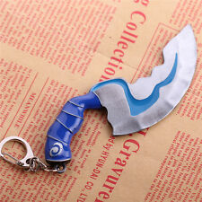 Dota2 Kelen's Blink Dagger Hunter Knife Blade Model Keychain Key Ring Pendant