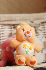12cm McDonald's Friend Yellow Care Bear Key-Ring New