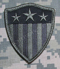 CAPTAIN AMERICA USA FLAG SHIELD ARMY ACU DARK BADGE VELCRO® BRAND FASTENER PATCH