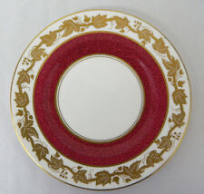 Wedgwood Bone China Powder Ruby Bread Plate Whitehall W3994 Made In England