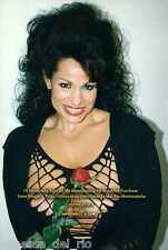Vanessa del Rio Collectible Photo Busty Flower! 8x10 Signed After BUY w/COA