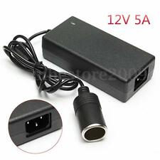 60W 5A AC220V To DC12V Power Adapter Converter Car Cigarette Lighter Socket
