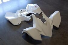 SUZUKI LTR 450 06 - 09 WHITE FRONT AND REAR PLASTIC FENDER SET PLASTICS LTR450
