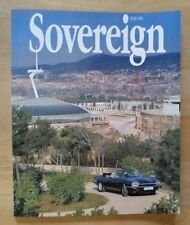 JAGUAR SOVEREIGN orig 1992 International Magazine Brochure - Edition 5