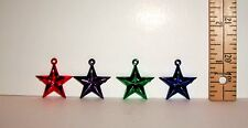 1/6 SCALE FASHION DOLL SIZE MINIATURE STARS CHRISTMAS TREE ORNAMENT LOT