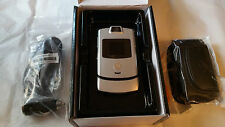 BRAND NEW SILVER BLUEGRASS CELLULAR KENTUCKY KY MOTOROLA V3M RAZR VERIFIED ESN