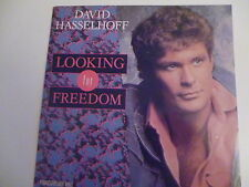 45 Tours DAVID HASSELHOFF Looking for freedom 111936