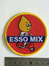 Vespa Esso Mix Patch - Embroidered - Iron or Sew On