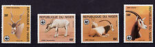Niger - 1985 Endangered Animals (WWF) - U/M - SG 1038-41