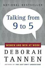 G, Talking from 9 to 5: Women and Men at Work, Deborah Tannen, 0380717832, Book