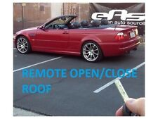 BMW E46 CONVERTIBLE ROOF OPEN AND CLOSE FROM REMOTE UNLOCKING & CODING SERVICE