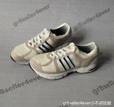 """1/6 scale Kumik ADS White Sport Running Sneaker shoes fit 12"""" figure body toys"""